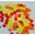 MosaixPro Glassteine 20x20 rotmix