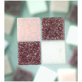 MosaixPro Glassteine 20x20 lilamix