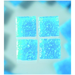 MosaixPro Glassteine 20x20 azurblau
