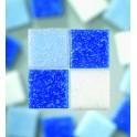 MosaixPro Glassteine 20x20 blaumix
