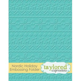 "Prägefolder ""Nordic Holiday"""