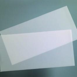 Verzierwachsplatten, transparent
