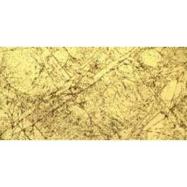Verzierwachsplatte, antik gold