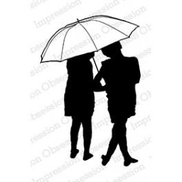 """Motivstempel """"Umbrella Silhouette"""""""