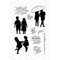 "Motivstempel ""Together Silhouettes"""