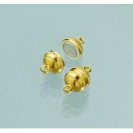 Magnetschließen Kugel, goldfarbig