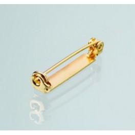 Broschennadel, 27mm, goldfarbig