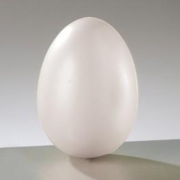 Kunststoff-Ei weiß