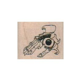 "Motivstempel ""Creepy Eye In Hand"""