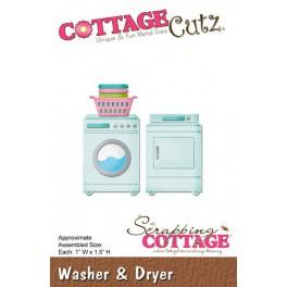 Schneideschablone CottageCutz Washer & Dryer