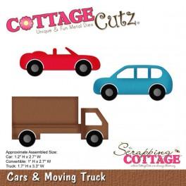 Schneideschablone CottageCutz Cars & Moving Truck