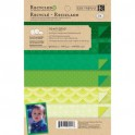 Scrapbookblock remake grass green Mat Pad