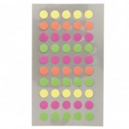 Sticker Punkte neon 8mm