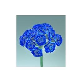 Diorröschen, dunkelblau