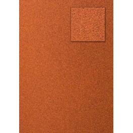 Glitterkarton orangerot