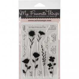 "Motivstempel ""Peaceful Wildflowers"""