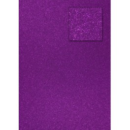 Glitterkarton lila