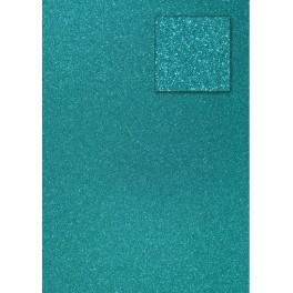 Glitterkarton preußisch blau