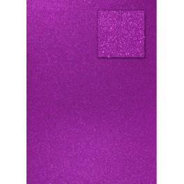 Glitterkarton violett