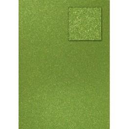Glitterkarton olivegrün