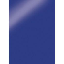 Spiegelkarton/ Spiegelfolie/ Glanzkarton blau