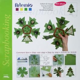 Mini Album Tannenbaum