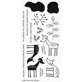 "Motivstempel ""Deer Friends"""