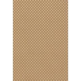 Sternenteppich Papier kraft/gold