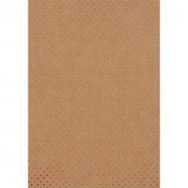 Sternenteppich Papier kraft/kupfer