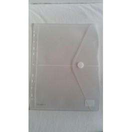 Umschlag A4 mit Abheftrand geteilt