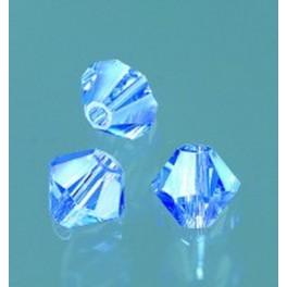 Swarovski Facettperle sapphire 4mm