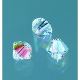 Swarovski Facettperle crystal AB 4mm