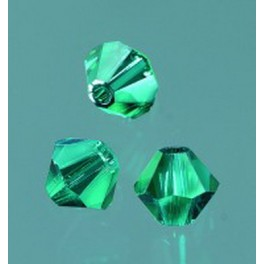 Swarovski Facettperle emerald 4mm