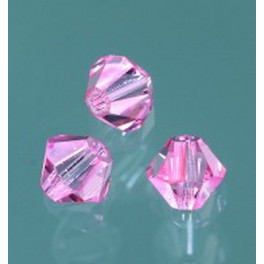 Swarovski Facettperle light rose 4mm