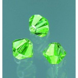Swarovski Facettperle peridot 6mm