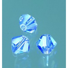 Swarovski Facettperle sapphire 6mm