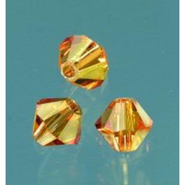 Swarovski Facettperle topas 6mm