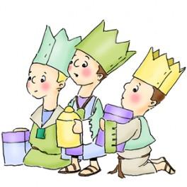 "Motivstempel ""Nativity Wisemen"""