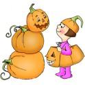 """Motivstempel """"Halloween Pumpkins"""" UM"""