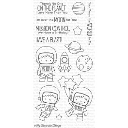 "Motivstempel ""Space Explorer"""