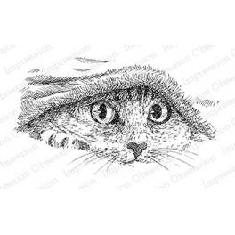 "Motivstempel ""Kitty Under Covers"""