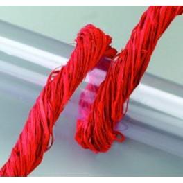 Raffia Gartenbast rot