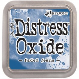 "Tim Holtz Distress Oxide Ink Pad ""Faded Jeans"""