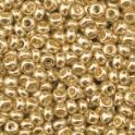 Rocailles 2,6mm metallic altgold