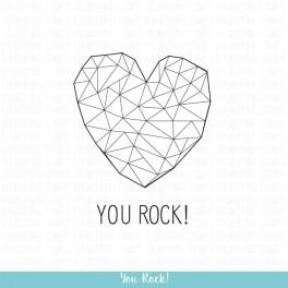 """Motivstempelset """"You Rock!"""""""
