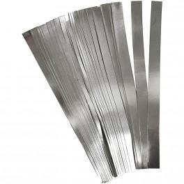 Papierstreifen silber 25mm