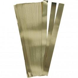 Papierstreifen gold 25mm