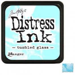 "Tim Holtz Distress Ink Pad ""Tumbled Glass"""