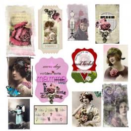 """Designpaper Rose Garden """"Klippark"""""""