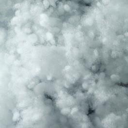 Perlenfaser, weiß 500g